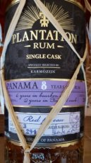 Plantation Panama 8y Single Cask KARMOZIJN
